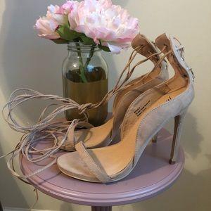 Nasty Gal strapping heels VVGUC sz 7